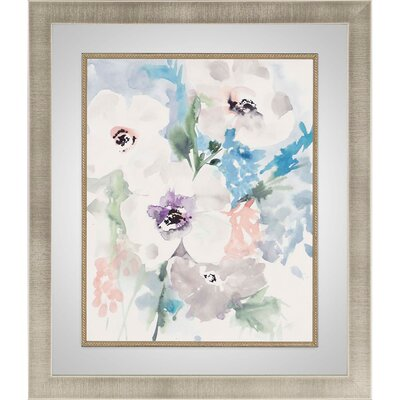 'Bright Bouquet 1' Framed Painting Print
