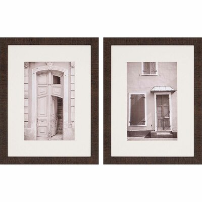 'Architecture I' 2 Piece Framed Photographic Print Set
