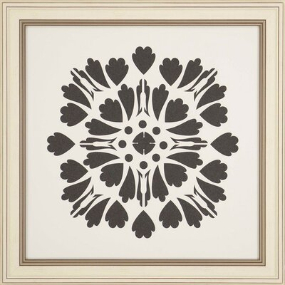 'Natural Geometric I' Framed Graphic Art Print