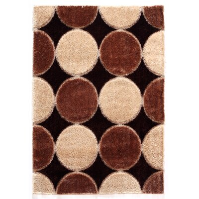 Contempo Circle Area Rug Rug Size: 53 x 77