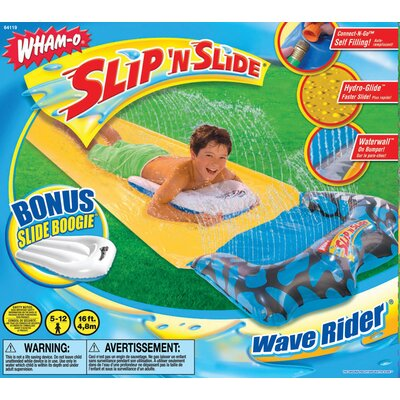 Image of Wham-O Slip 'N Slide Wave Rider with Slide Boogie Color: Pink (64119-09PNK)