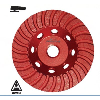 Diteq CTC32 Continuous Turbo Cup (Coarse) Grinding Wheel - Size: 5