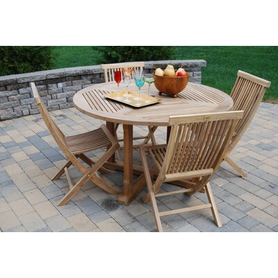 Teak Patio Dining  on Dining Set   1186 99 Beach Patio Balcony And Deck Features Set