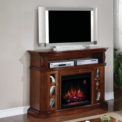 "Classic Flame Bellemeade 54"" TV Stand with 23EF031GRP Electric Fireplace (2 Pieces) - Finish: Burnished Walnut at Sears.com"