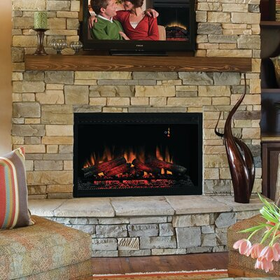 Classic Flame 36eb110 Grt 36 Built In Wall Mount Electric Fireplace
