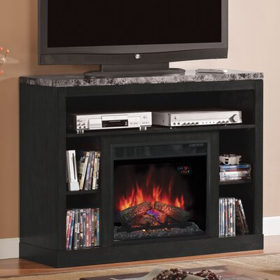 Lincolnville Contemporary TV Stand with Fireplace