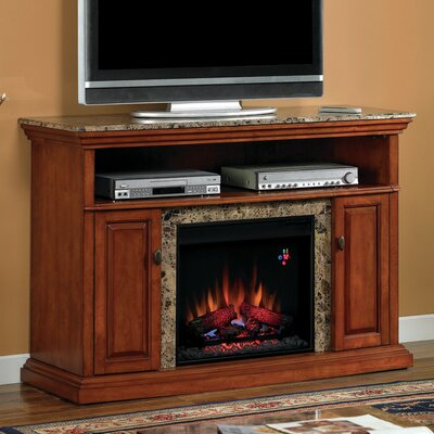 Lincolnville Traditional TV Stand with Fireplace