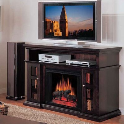 Cheap Dimplex Symphony Media Bennett Tv Stand With Electric Fireplace