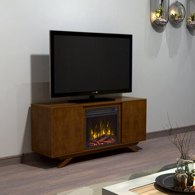Sheena 51.25 TV Stand with Optional Fireplace Fireplace Included: Yes