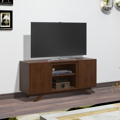 Sheena 51.25 TV Stand with Optional Fireplace Fireplace Included: No