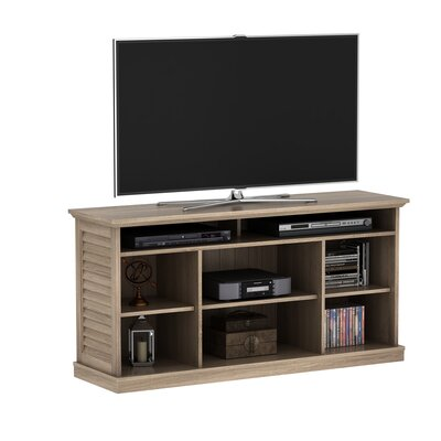 Phelps 54.5 Fireplace TV Stand Color: Minden Oak, Width of TV Stand: 54.5