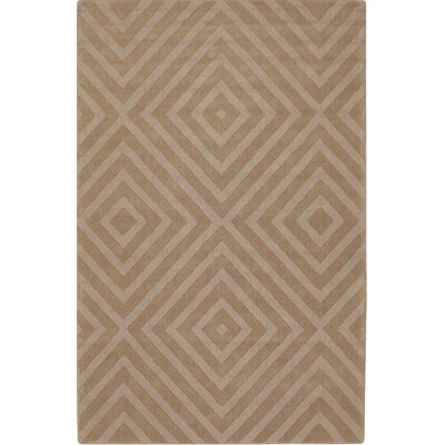 Carissa Brown Area Rug Rug Size: Rectangle 7 x 10