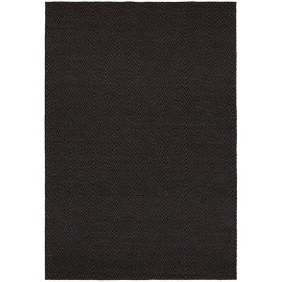 Curiel Black Area Rug Rug Size: 5 x 76