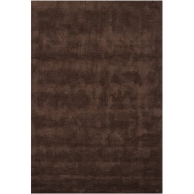 Tomica Brown Solid Area Rug Rug Size: 5'3