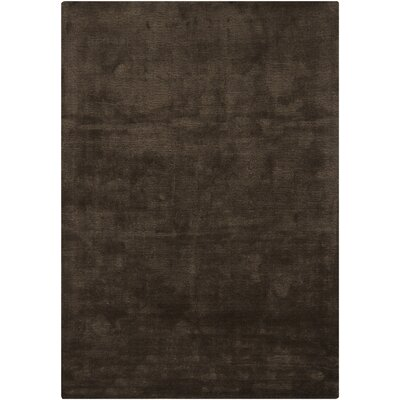 Tomica Chocolate Solid Area Rug Rug Size: 53 x 77