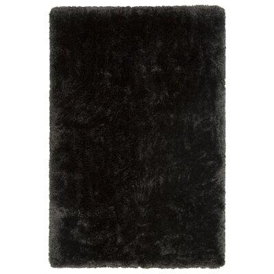 Joellen Black Area Rug Rug Size: 79 x 106
