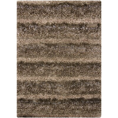 Bavaria Brown Area Rug Rug Size: 3'11
