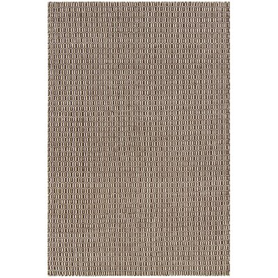 Kerri Brown Area Rug Rug Size: 79 x 106