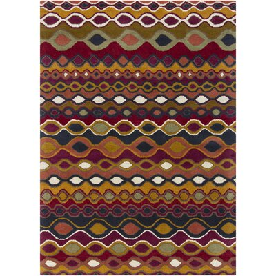 Carol Abstract Area Rug Rug Size: 7 x 10