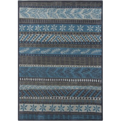 Castlekeep Grey Area Rug Rug Size: Rectangle 5 x 7