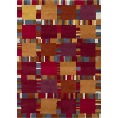 Stockwood Geometric Area Rug Rug Size: 5 x 7
