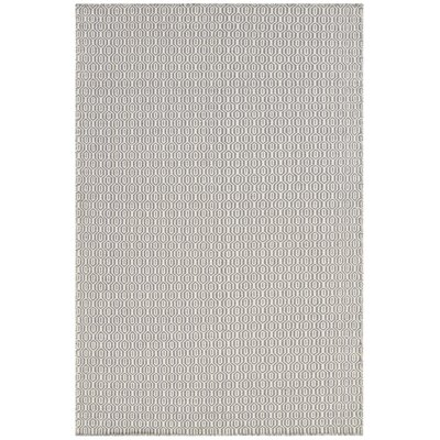 Diva Gray Area Rug Rug Size: 79 x 106
