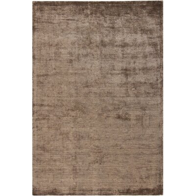 Glittero Brown Area Rug Rug Size: 79 x 106