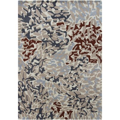 Thames Abstract Area Rug Rug Size: 5 x 7