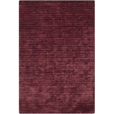 Kai Red Area Rug Rug Size: 7'9