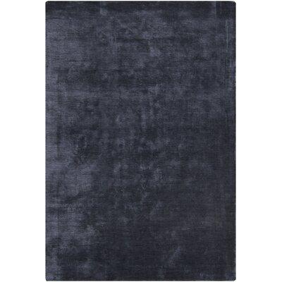 Glittero Black Area Rug Rug Size: 79 x 106