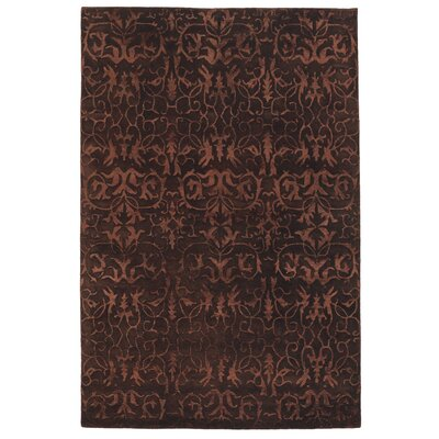 Ghita Brown Area Rug Rug Size: 5 x 76