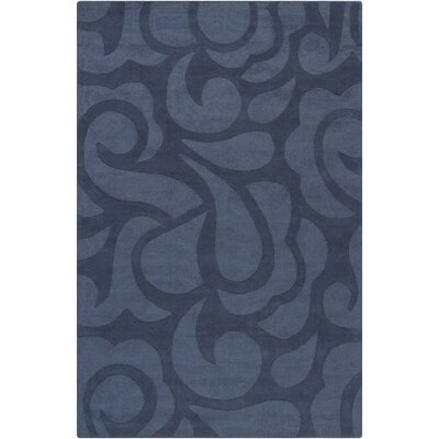 Stehle Blue Area Rug Rug Size: 5 x 76