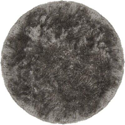 Joellen Gray Area Rug Rug Size: Round 79