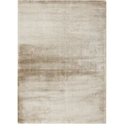 INT Ivory/Brown Area Rug Rug Size: 5 x 7