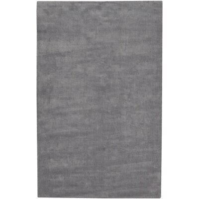 Mabel Wool Grey Area Rug Rug Size: 9 x 13