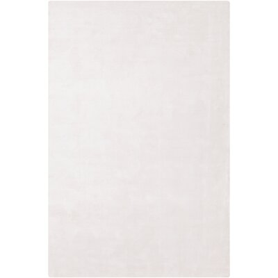 Mabel Hand Woven Wool White Area Rug Rug Size: Rectangle 9 x 13