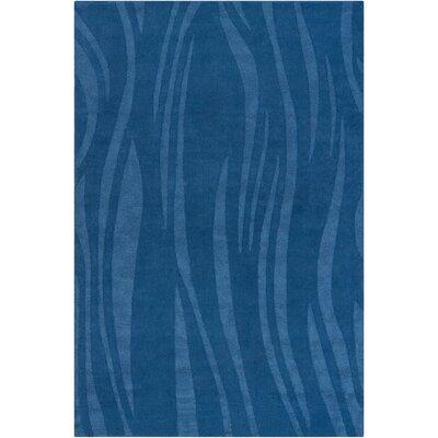 Romel Blue Area Rug Rug Size: 5 x 76
