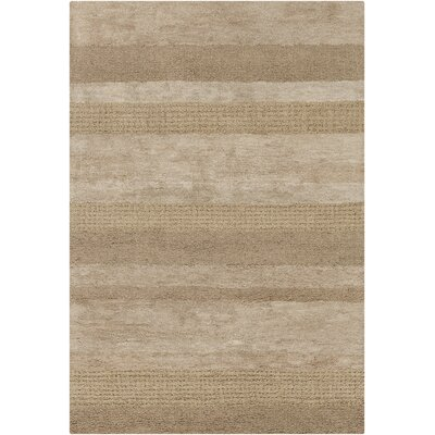Carli Brown Area Rug Rug Size: 79 x 106