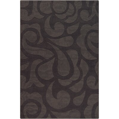 Stehle Grey Area Rug Rug Size: 5 x 76