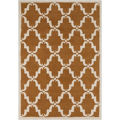 Thurman Moroccan Brown Area Rug Rug Size: 7 x 10