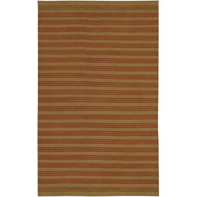 Aneres Brown Rug Rug Size: Round 59