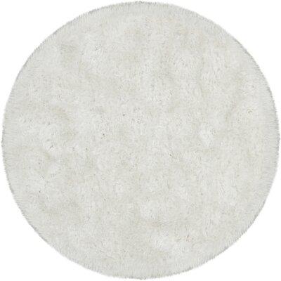 Joellen Grey Area Rug Rug Size: Round 79