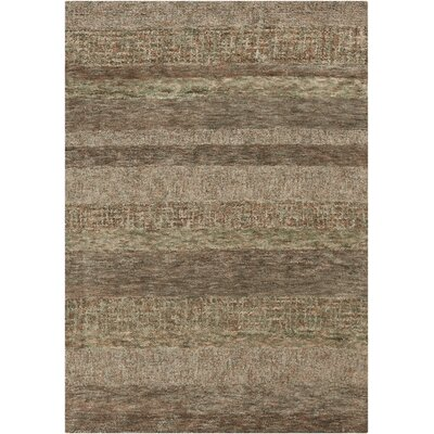 Harber Dark Brown Area Rug Rug Size: 79 x 106
