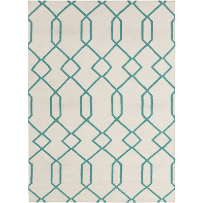 Antoinette Wool Geometric Rug Rug Size: 5' x 7'