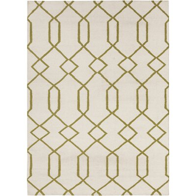 Antoinette Rectangle Geometric Rug Rug Size: 5 x 7