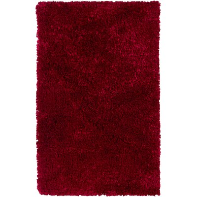 Banner Red Area Rug Rug Size: 36 x 56