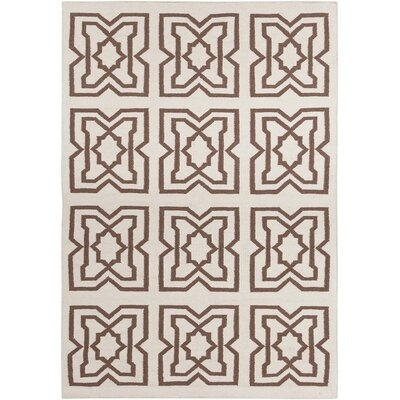 Hummel Mocha Abstract Rug Rug Size: 7 x 10