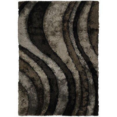 Flemish Black/Gray Area Rug Rug Size: 79 x 106