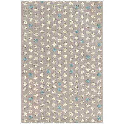 Wurth Grey Rug Rug Size: 79 x 106