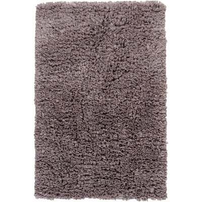 Paper Shag Grey Area Rug Rug Size: 36 x 56